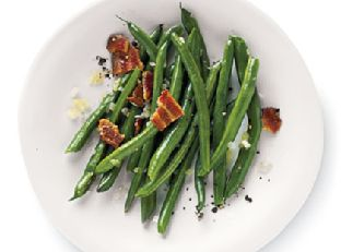 Peppery Bacon Green Beans Image