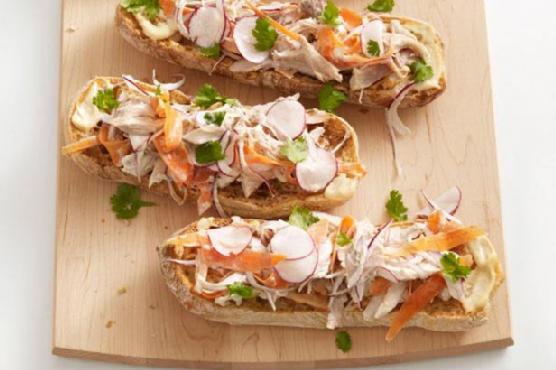 Открытые сложные бутерброды рецепты с фото