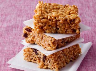 Peanut Butter Crispy Rice Treats Image