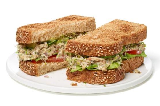 Sardine Salad Sandwich