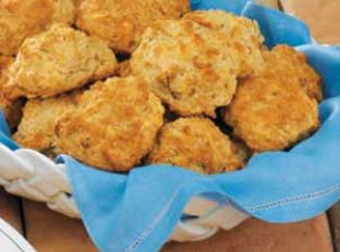 Swiss Onion Drop Biscuits