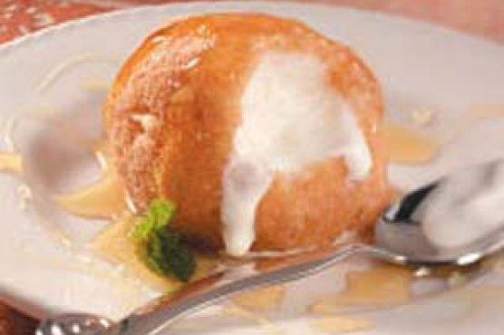 Жареное мороженое рецепт пошагово