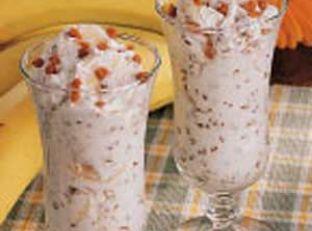Banana Toffee Cream Image