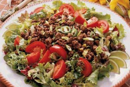 Spicy Beef Salad