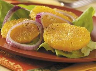 Mediterranean Orange Salad Image