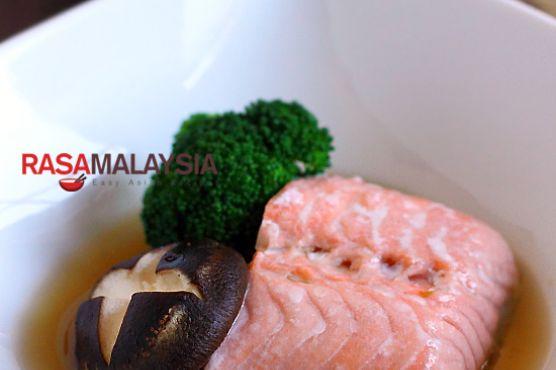 Steamed Norwegian Salmon Recipe