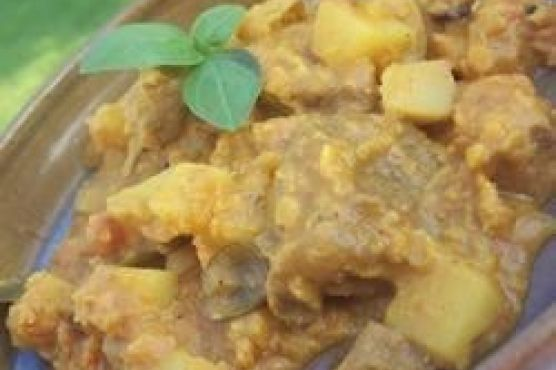 Mum's Mutton Curry