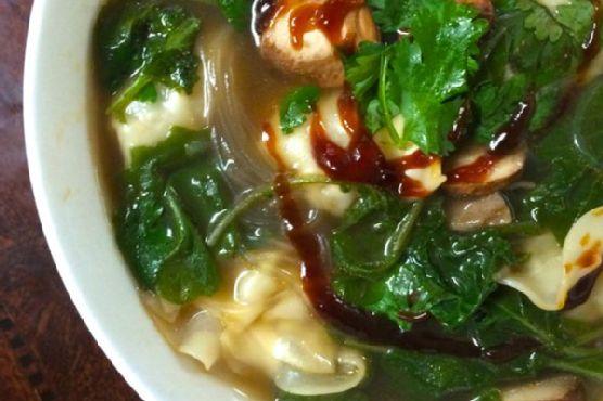 5 Minute Wonton Soup