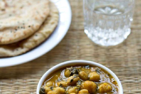 methi chole , how to make punjabi methi chole masala