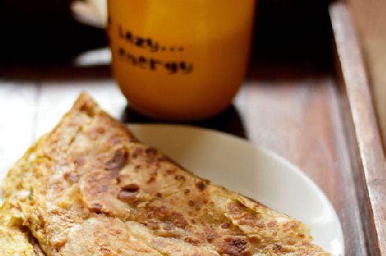 Egg Paratha or Baida Roti , How to make Egg Paratha