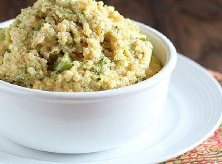 Cheesy Broccoli Quinoa Image