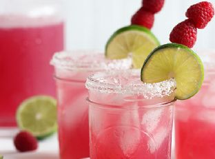 Raspberry Beer Margaritas Image