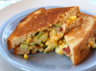 The Bug's Ultimate Bacon, Corn & Avocado Grilled Cheese & @RudisGlutenFree Say Cheese Contest & #Giveaway