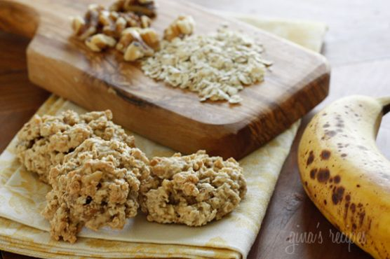 Печенье из банана исяных хлопьев 59