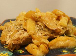 Sunday Slow Cooker: Pork Tenderloin and Apples