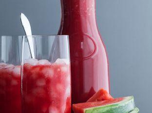 Watermelon Raspberry Lemonade (Naturally Sweetened)