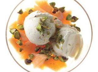 Cantaloupe Parfait With Salted Pistachios Image