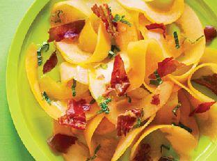 Shaved Cantaloupe and Prosciutto Salad Image