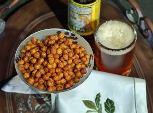 Crispy-Roasted Spicy Chickpeas (Five Ingredient Friday) Image