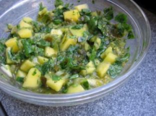 Simple Mango Salsa Image