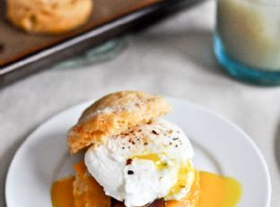 Sweet Potato Breakfast Biscuits