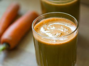 Healthy Carrot Kale Juice Image