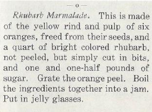 Rhubarb Marmalade – Cooking Club 1907 Image