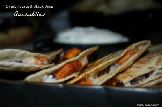 Sweet Potato & Black Bean Quesadilla