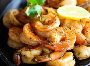 Sweet Lemon Shrimp