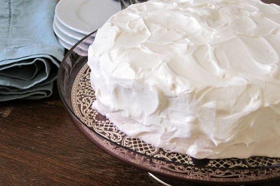 Белковый полуфабрикат для торта