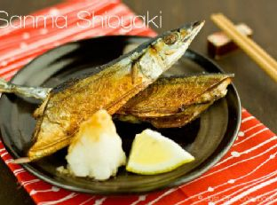 Sanma Shioyaki (Salt-Grilled Pacific Saury) Image