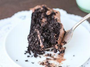 Best-Ever Chocolate Quinoa Cake {gluten-free}