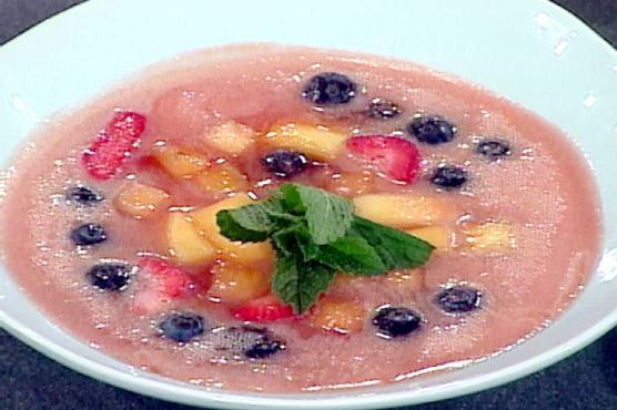 Ревеневый суп рецепт с фото
