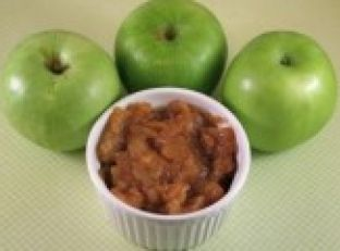 Crockpot Chunky Cinnamon Applesauce Image