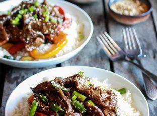 30 Minute Korean Beef + Toasted Sesame Rice