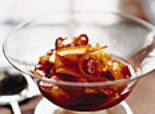 Candied-Orange and Cranberry Compote Image