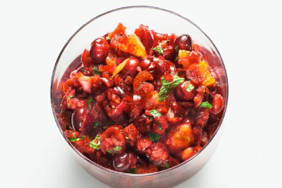 Cranberry-orange Relish With Mint