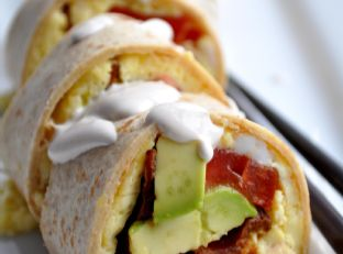 California Roll Breakfast Sushi – #TopChef