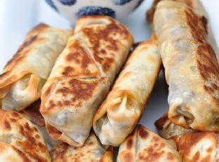 Baked Southwestern Eggrolls & Meal Planning