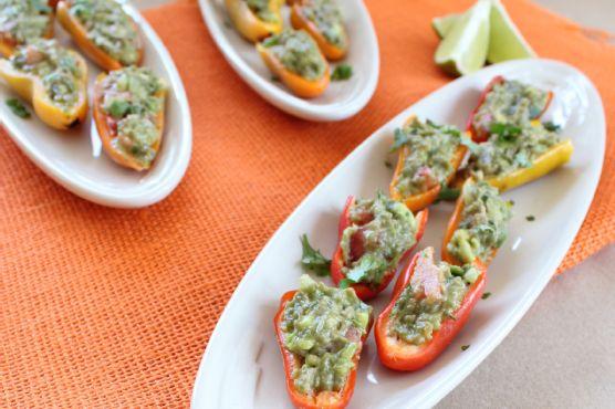 Guacamole Stuffed Peppers
