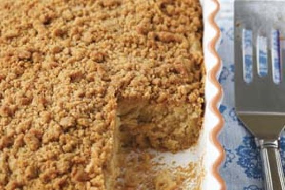 Dairy-Free, Egg-Free, Gluten Free Coffee Cake with Streusel Topping