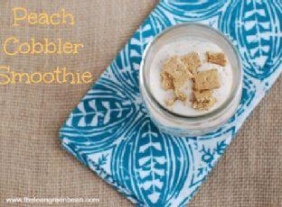Peach Cobbler Smoothie Image