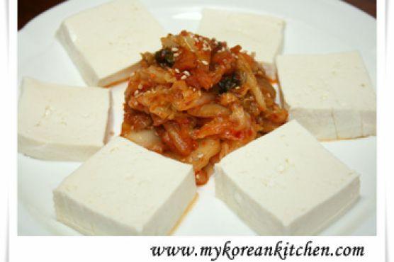 Tofu Kimchi (Dubu Kimchi)