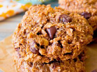 Banana Chocolate Chip Breakfast Cookies