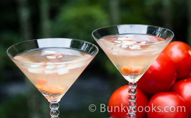Image of Clear Tomato Martini