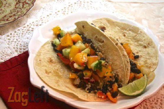 Quinoa and Black Bean Burritos