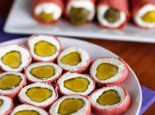 Dried Beef Pickle Roll-Ups | Easy Party Appetizer