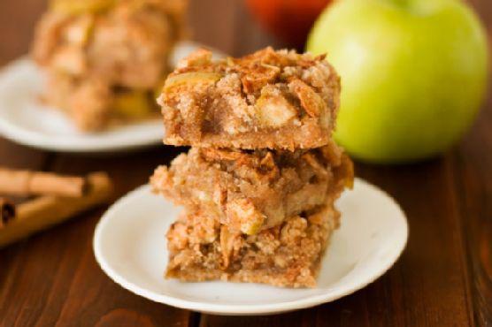 Gluten Free Apple Pie Bars: Grain Free Goodness
