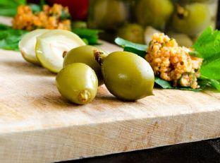 Pickled Unripe Peaches Image