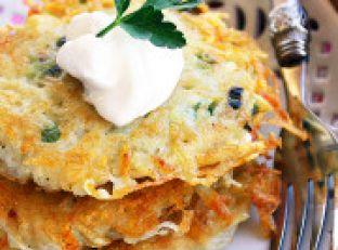 Crispy Scallion Potato Pancakes Image